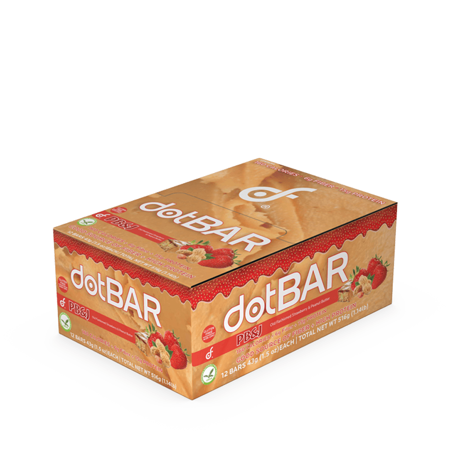 dotBAR - PB&J Bar (Peanut Butter & Jelly)
